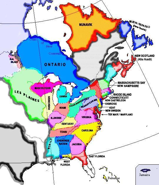 North America Map IBWiki