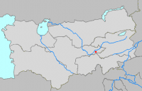 Location of Qoqand