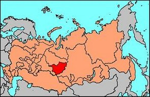 Location of Tocharstan in the Russian Federation